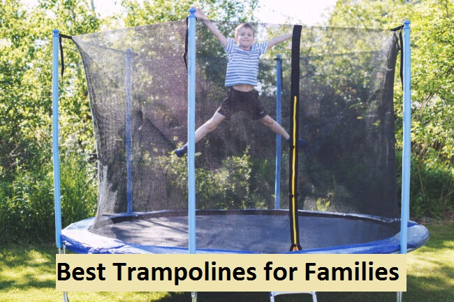 Best Trampolines for families