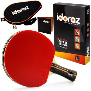 Best ping pong paddle under 100 Idoraz ping pong