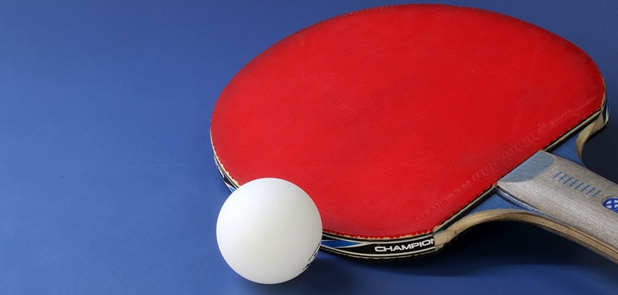 best table tennis paddle 2021