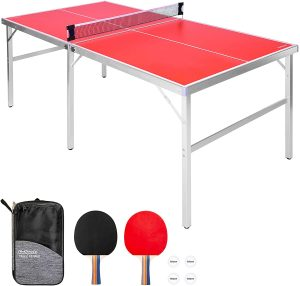 Best Indoor Table Tennis Table Gosports mid size
